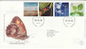2000-04-04 Life and Earth Stamps Bureau FDC (61574)