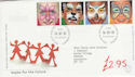 2001-01-16 Hopes for The Future Stamps Bureau FDC (61583)