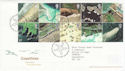 2002-03-19 Coastlines Stamps T/House FDC (61588)