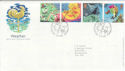 2001-03-13 Weather Stamps Bureau FDC (61597)