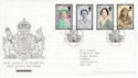 2002-04-25 Queen Mother Stamps London SW1 FDC (61604)