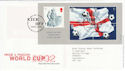2002-05-21 World Cup Football M/S T/House FDC (61612)