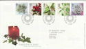 2002-11-05 Christmas Stamps T/House FDC (61615)