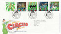 2002-04-09 Circus Stamps T/House FDC (61617)