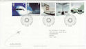 2002-05-02 Airliners Stamps T/House FDC (61619)