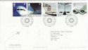 2002-05-02 Airliners Stamps T/House FDC (61620)