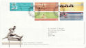 2002-07-16 Commonwealth Games T/House FDC (61626)
