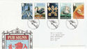 2003-08-12 Pub Signs Stamps Cross Keys FDC (61651)