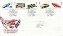 2003-09-18 Transports of Delight Stamps T/House FDC (61662)