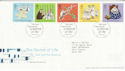 2003-02-25 Secret of Life Stamps Cambridge FDC (61663)