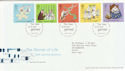 2003-02-25 Secret of Life Stamps T/House FDC (61665)