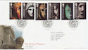 2003-10-07 British Museum Stamps London WC1 FDC (61671)