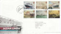 2004-04-13 Ocean Liners Stamps T/House FDC (61684)