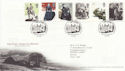 2005-02-24 Jane Eyre Stamps T/House FDC (61696)
