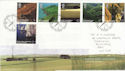 2005-02-08 SW England Stamps The Lizard FDC (61697)