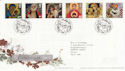 2005-11-01 Christmas Stamps T/House FDC (61707)