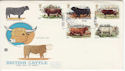 1984-03-06 Cattle Stamps Ballynaninch FDC (61729)