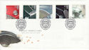 1996-10-01 Classic Cars Stamps Silverstone FDC (61734)