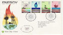 1978-01-25 Energy Stamps Rare BP Bureau FDC (61735)