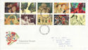 1995-03-21 Greetings Stamps Nottingham FDC (61742)