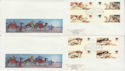 1984-11-20 Christmas Gutter Stamps Iona x3 FDC (61747)