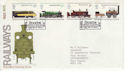 1975-08-13 Railways Stockton On Tees FDC (61771)