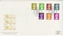 1991-09-10 Definitive Stamps Windsor FDC (61811)