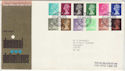 1971-02-15 Definitive Stamps Bureau FDC (61830)
