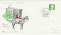 1997-09-23 20p Side Band Definitive Windsor FDC (61832)