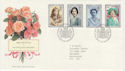 1990-08-02 Queen Mother 90th Bureau FDC (61884)