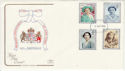 1990-08-02 Queen Mother 90th Plymouth FDC (61885)