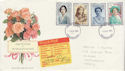 1990-08-02 Queen Mother 90th + Undelivered FDC (61887)