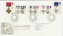 1990-09-11 Gallantry Stamps Bureau FDC (61888)