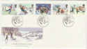 1990-11-13 Christmas Stamps Bethlehem FDC (61894)