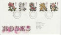 1991-07-16 Roses Stamps Bureau FDC (61912)