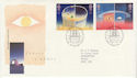 1991-04-23 Europe in Space Stamps Bureau FDC (61922)
