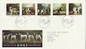 1991-01-08 Dogs Stamps Bureau FDC (61926)