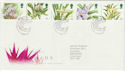1993-03-16 Orchids Stamps Glasgow FDC (61962)