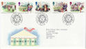 1994-08-02 Summertime Stamps Bureau FDC (61969)