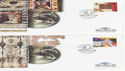 1999-11-02 Christmas Stamps Canterbury x4 FDC (61977)