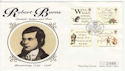 1996-01-25 Robert Burns Stamps Dumfries FDC (61983)