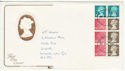 1981-08-26 Booklet Stamps Newcastle FDC (62003)