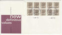 1983-04-05 1.60p Booklet Stamps Windsor FDC (62028)
