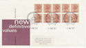 1987-08-04 Booklet Stamps London EC1 FDC (62046)
