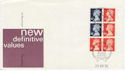 1989-04-25 Definitive Bklt Stamps London EC1 FDC (62048)