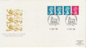 1989-10-10 Definitive Coil Stamps Windsor FDC (62063)