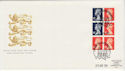1989-04-25 Definitive Bklt Stamps Windsor FDC (62066)
