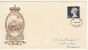1972-12-06 �1 Definitive Manchester FDC (62070)
