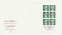 1980-04-16 Wedgwood Booklet 2p Barlaston FDC (62075)