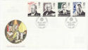 1995-09-05 Communications Stamps R H London FDC (62079)